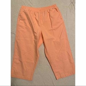 Hasting and smith peach cropped pant